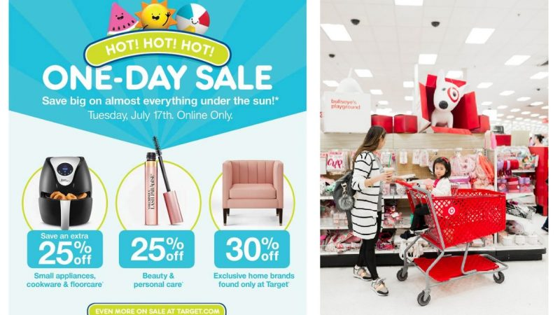 Target One-Day Sale on July 17, 2018