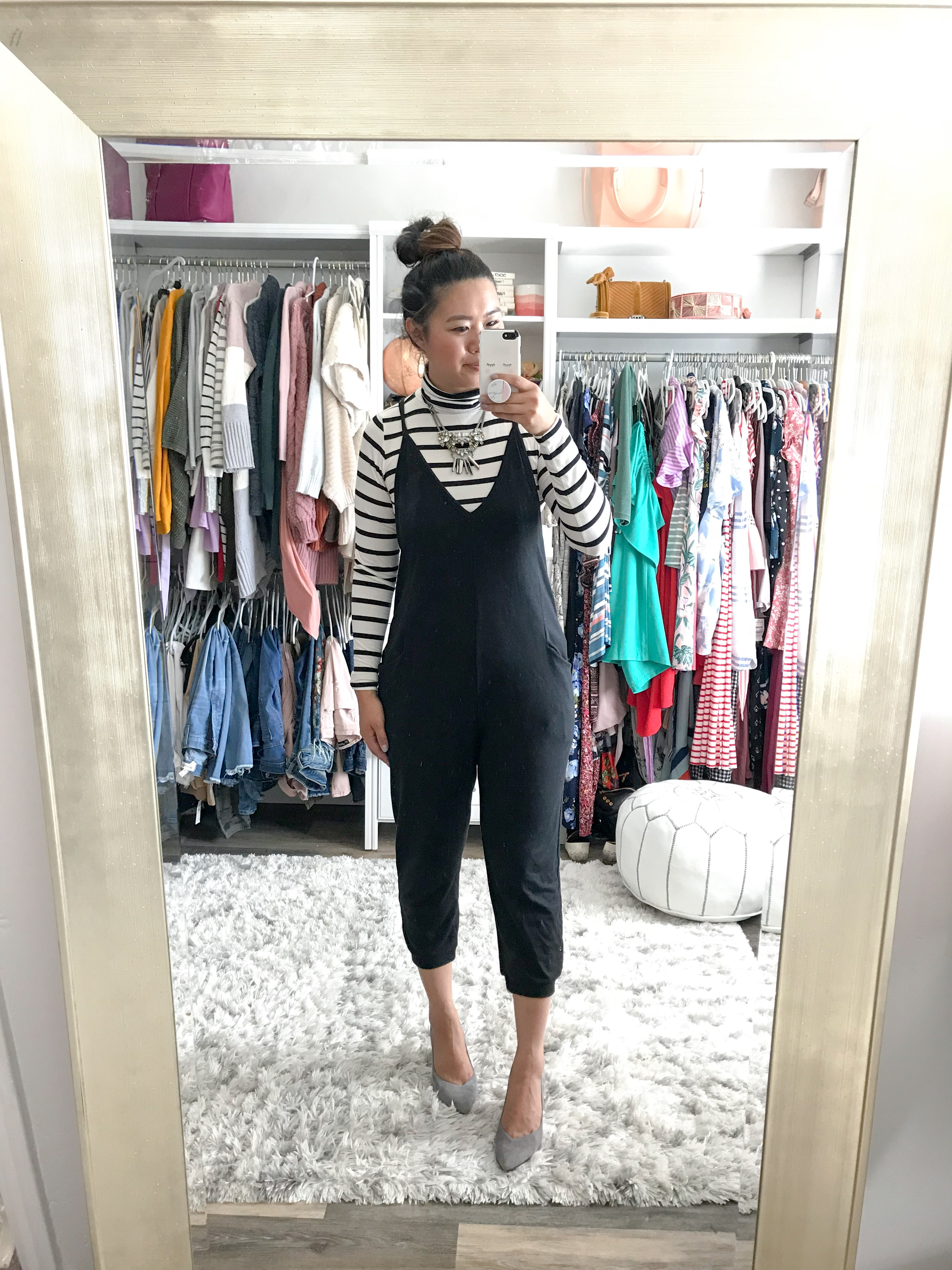 cf53436616 Target Women s V-Neck Knit Jumpsuit – Wild Fable – Is it any surprise that  this jumpsuit made it to the top of the list  You guys BLEW me away with  your ...