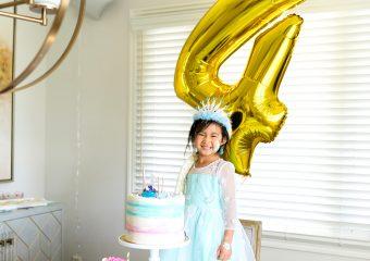 Vivian's 4th Birthday Frozen Ice Princess Party!