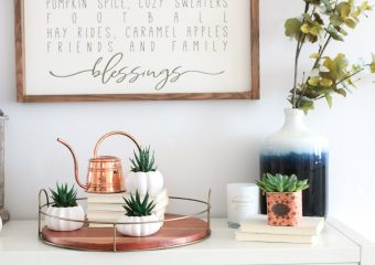 Decorate For Fall With Succulents