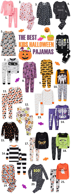 21 best kids' halloween pajamas | sandy a la mode