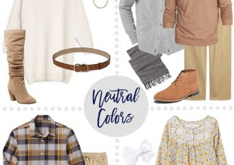 Fall Family Outfit Ideas – Bold Color & Neutral Color Options!