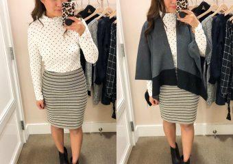 LOFT Dressing Room Try On – November 2018