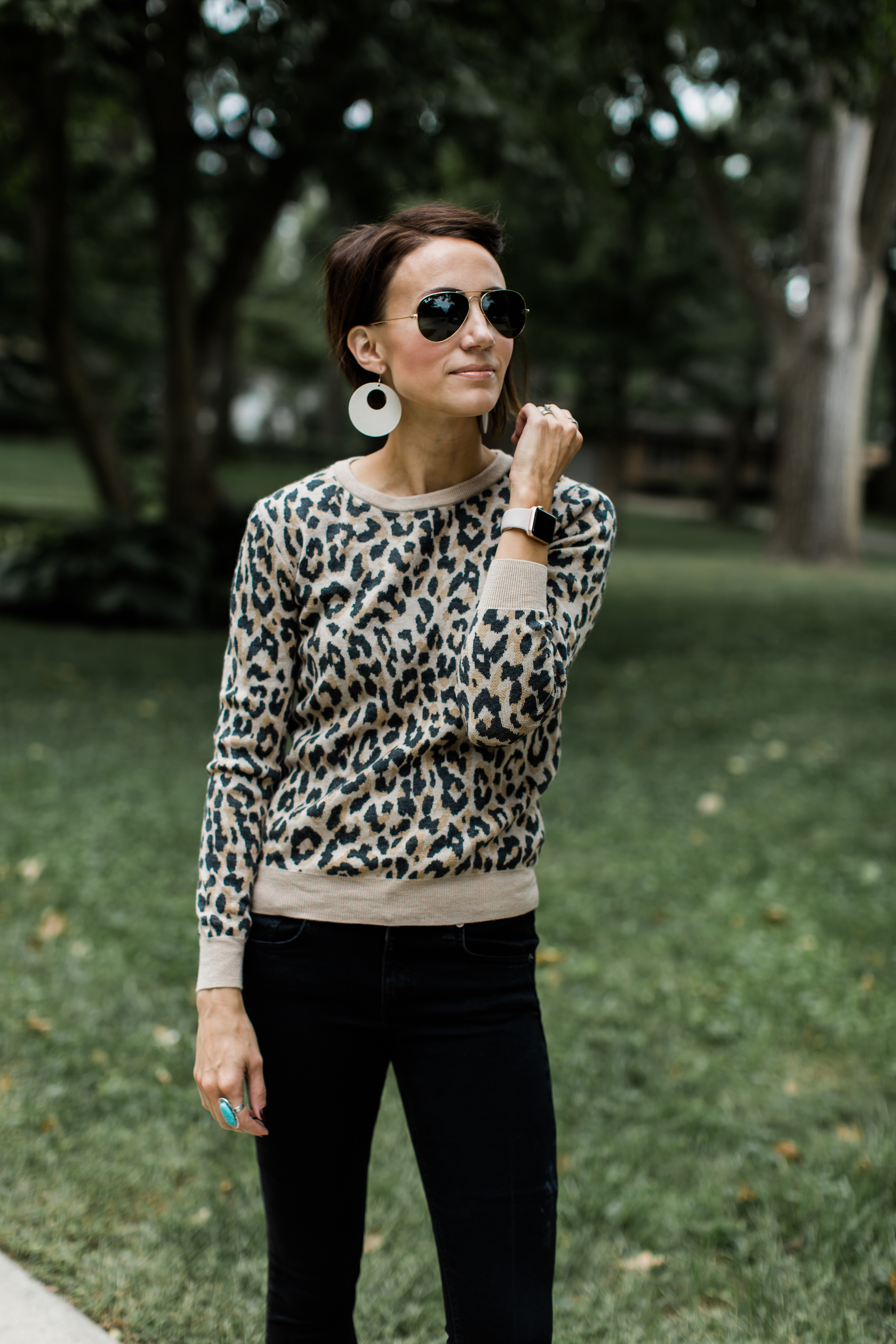 9b97a4d58e Sweater – Leopard print sweaters are filling up the stores right now and  for good reason! They act as a great top on their own