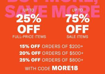 Shopbop Fall 2018 Sale Picks