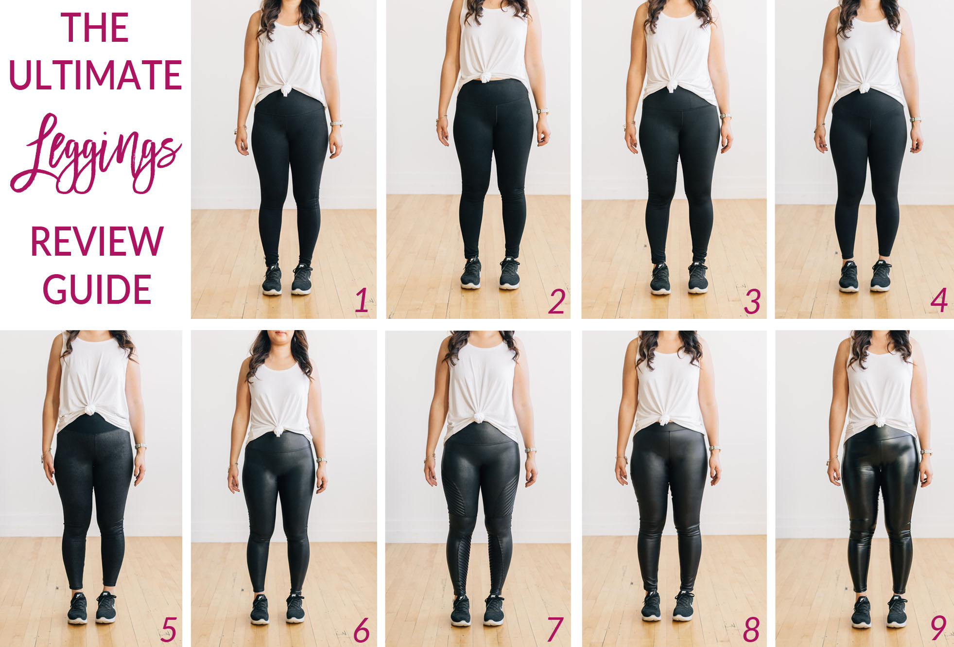 How To Wear Spanx Feaux Leather Leggings