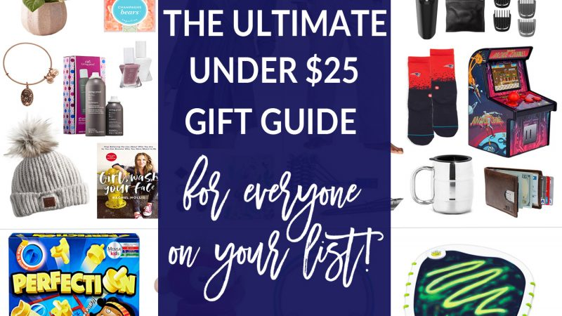 Holiday Gift Guide: Gifts Under $25 For Everyone On Your List