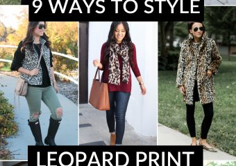 9 Ways To Style Leopard Print!
