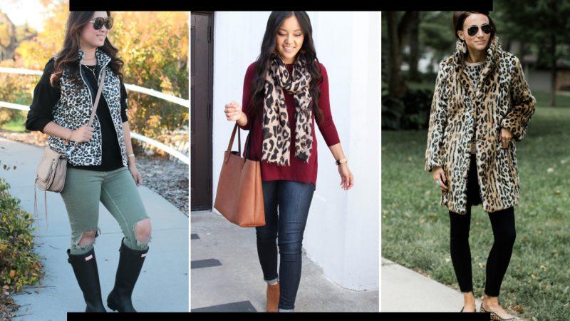 9 Ways To Style Leopard Print!