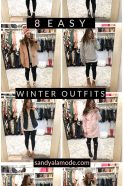 8 Easy Winter Outfits