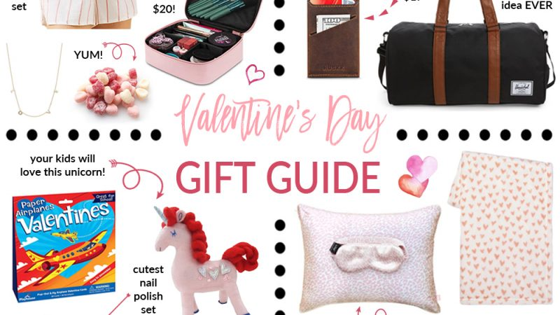 Valentine's Day Gift Guide For Everyone