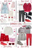 Valentine's Day Outfits for Kids
