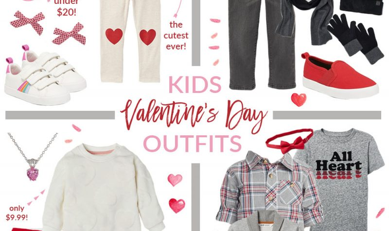 Kids Valentine's Day Outfit Ideas