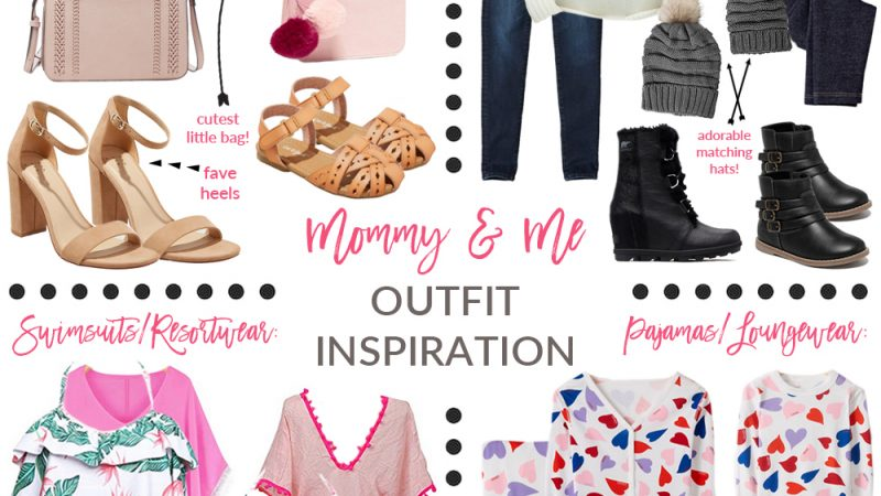 Mommy and Me Twinning Outfit Inspiration