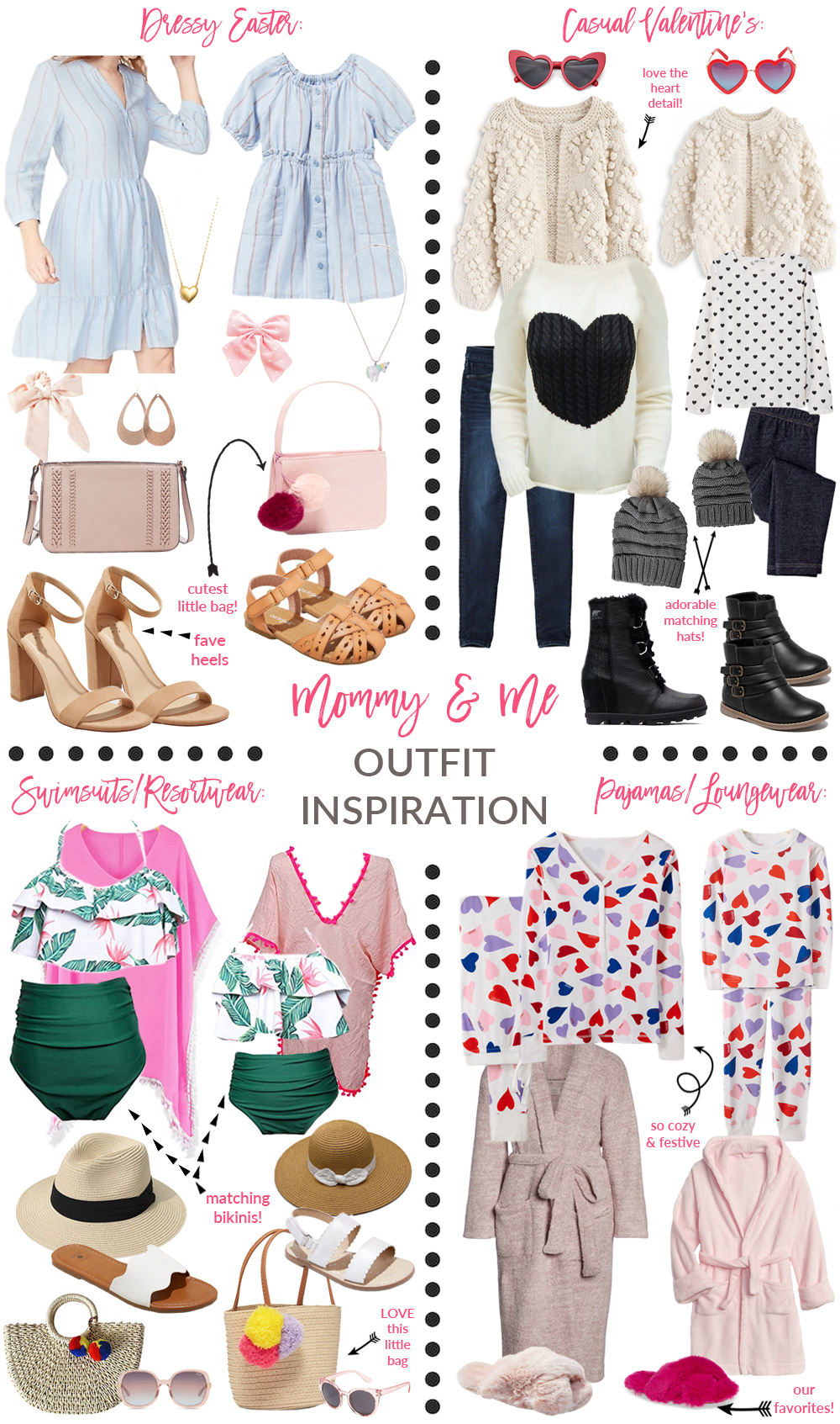 c28e8019ccc9a Mommy and Me Twinning Outfit Inspiration