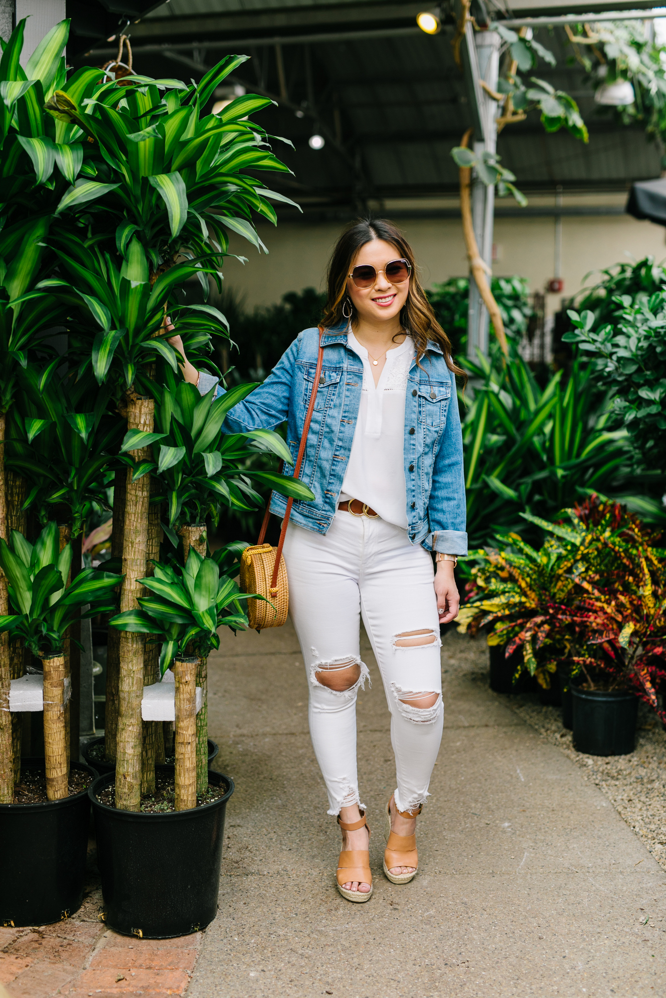 4ea04dea130 A denim jacket is my HANDS DOWN top pick for this category and might be the  most worn item for me all Spring and Summer long. Because you can throw it  over ...