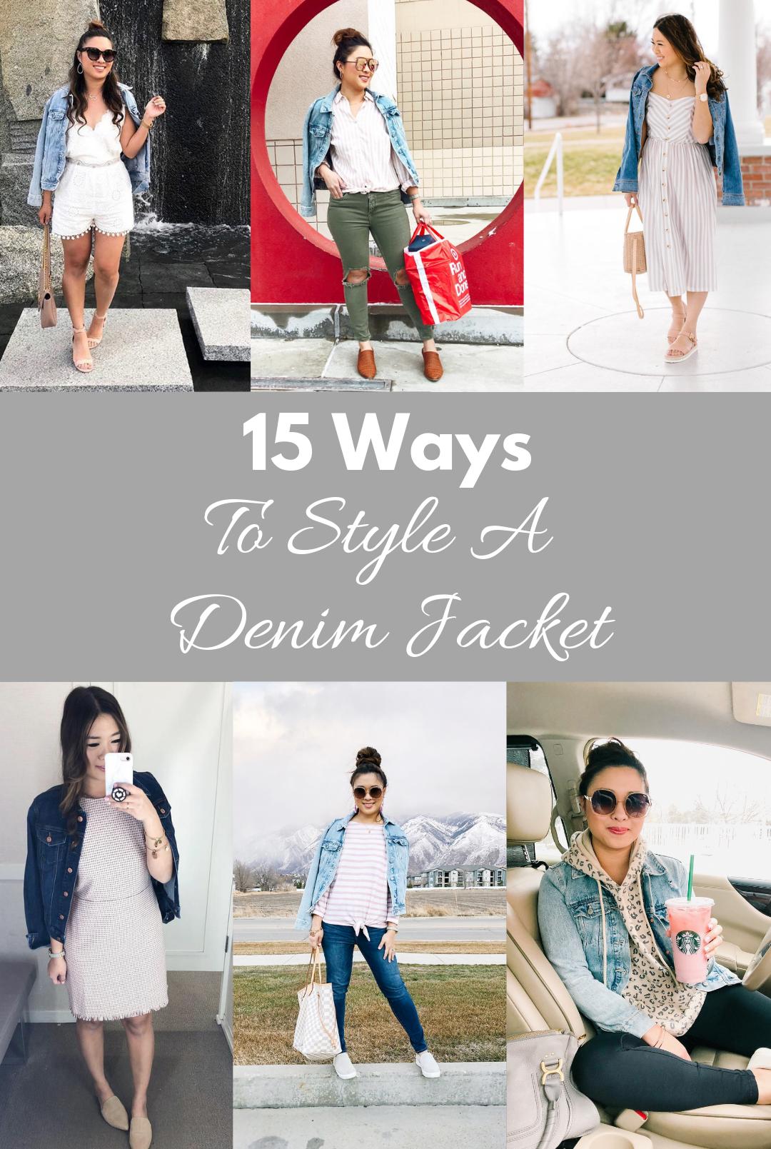 cd8f4c01eb 15 Ways To Style A Denim Jacket