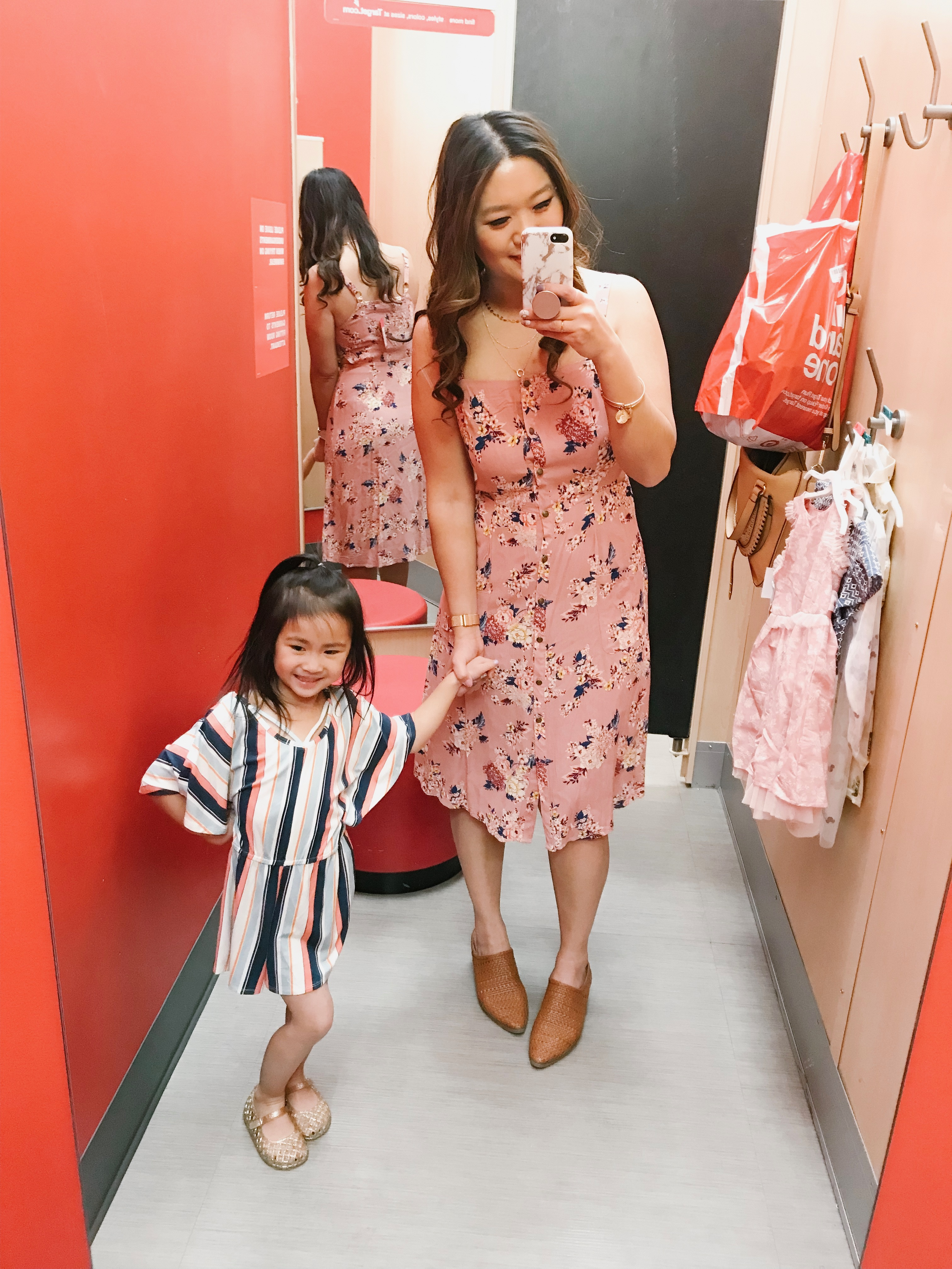 a49c618d79 Vivian s Striped Romper (XS)    Vivian s Jelly Sandals (9)    Pink Dress  (S)    Mules (Size up half a size)