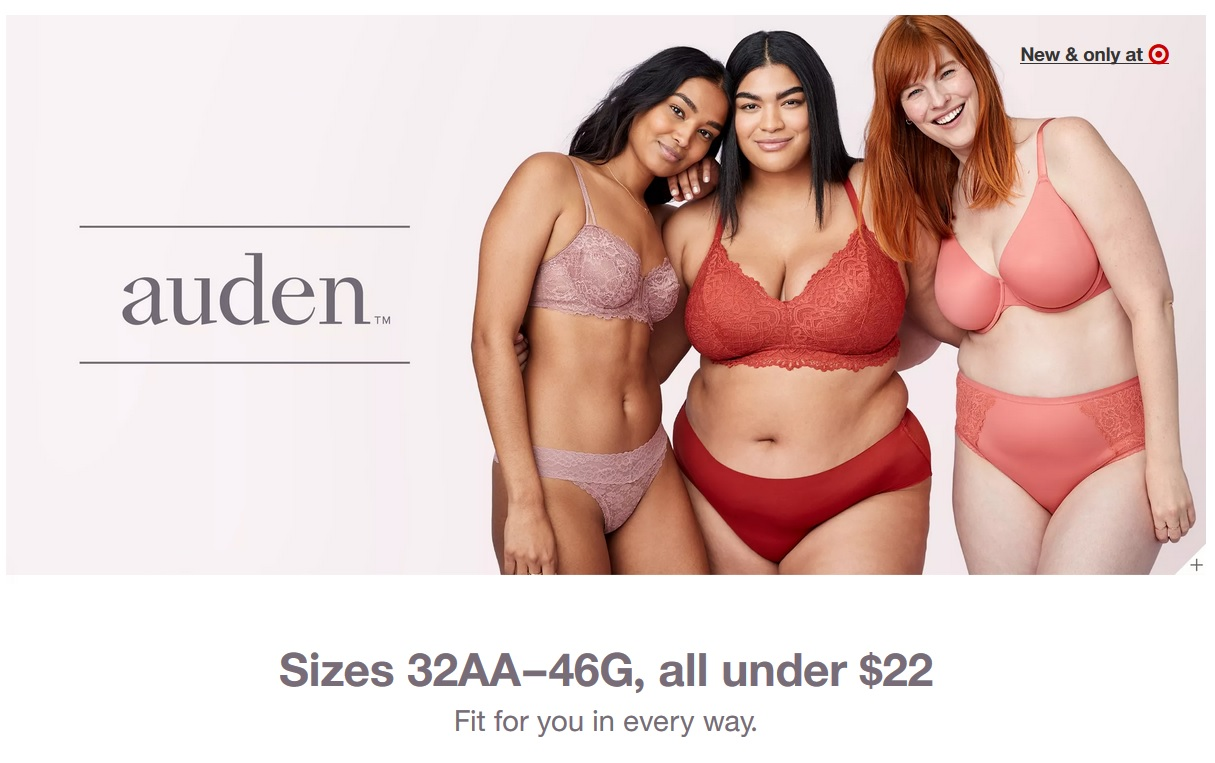 7bb9f3c1d3c And now the Auden line – you guys, this bra and underwear line rivals very  popular competitors with the fit, styles, and even the look of the setup in  the ...