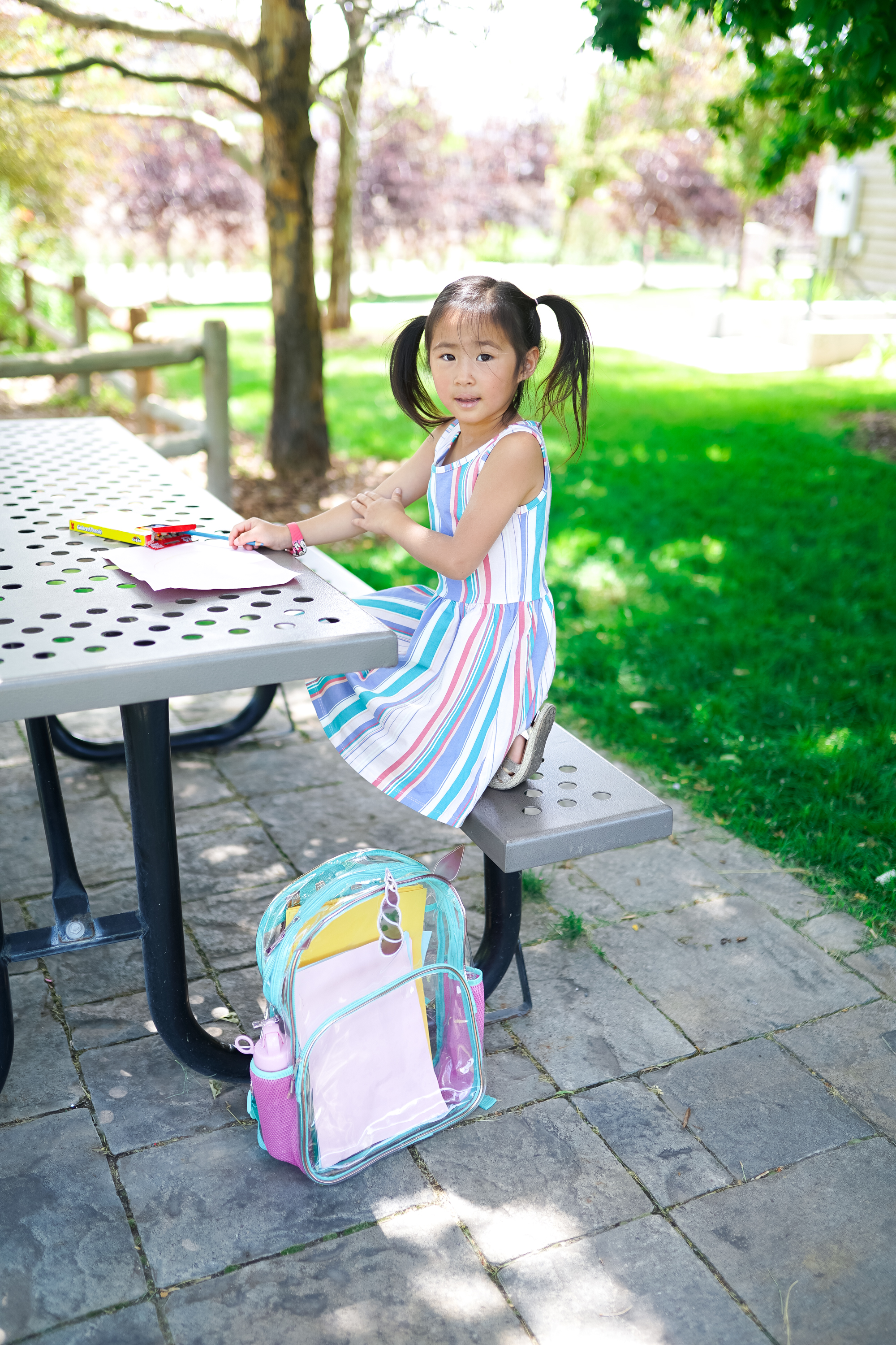 Utah lifestyle blogger, SandyALaMode shares a look and affordable and stylish back to school outfits for kids from Walmart! Check it out!