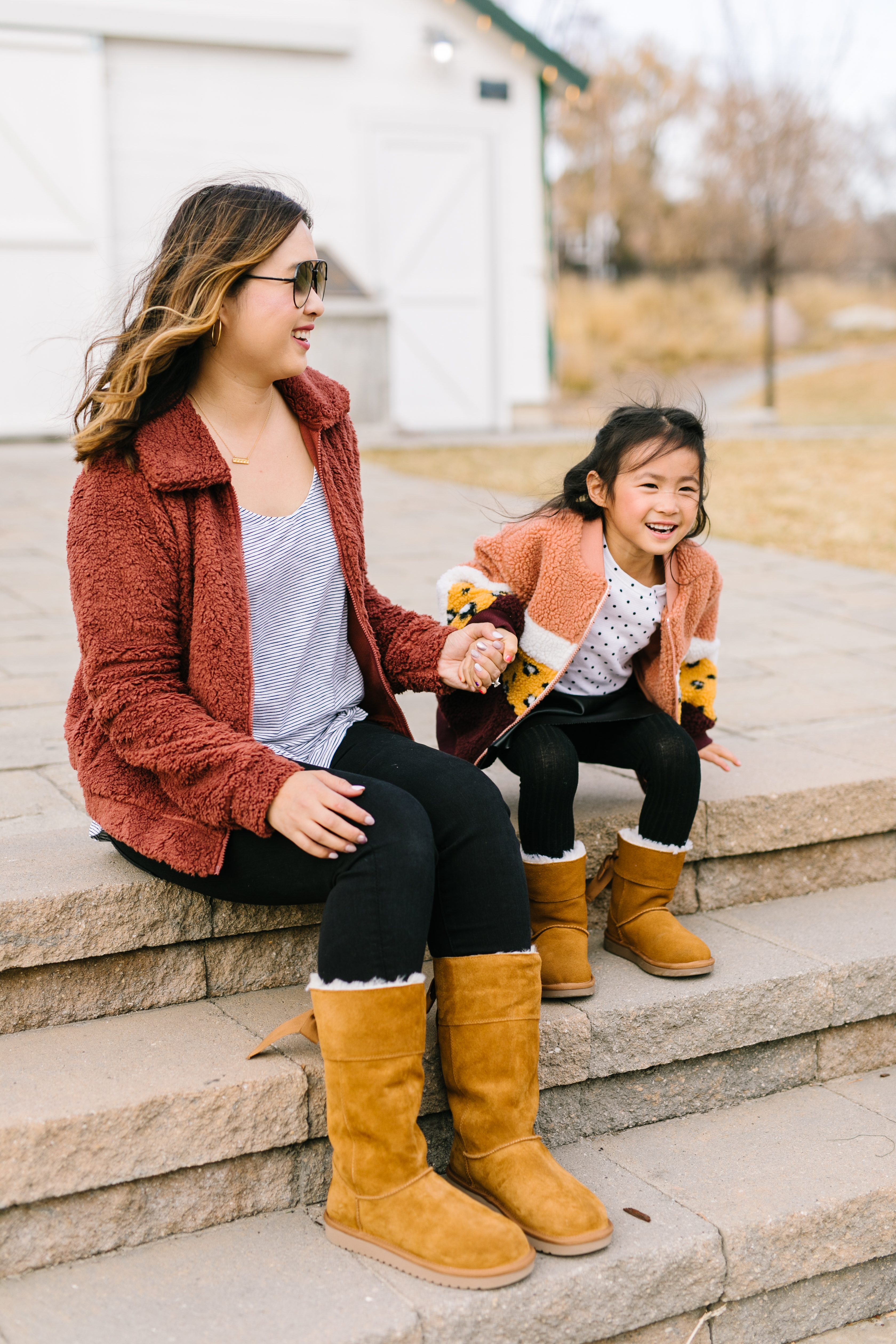 Mommy and Me Matching Winter Boots with
