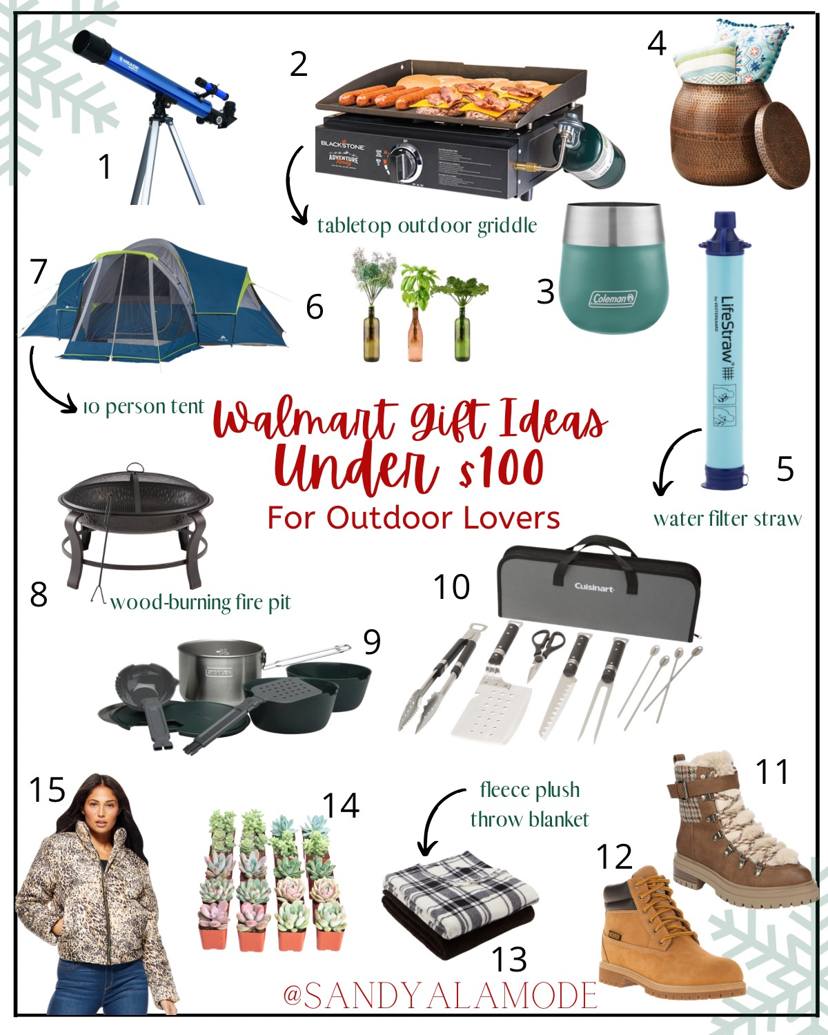 Gift Ideas Under 100 For Outdoor Lovers And Sports Enthusiasts Sandyalamode